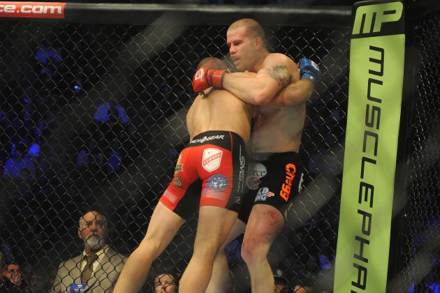 Nate Marquardt Tweets Photo of His Badly Battered Leg