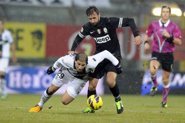 Juve Lead Cut to Three After Parma Draw