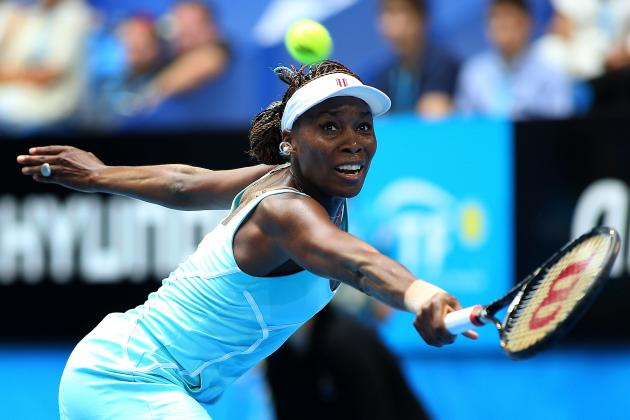 Venus Williams Eliminated by Maria Sharapova at 2013 Australian Open