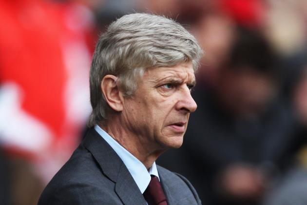 Arsenal Boss Arsene Wenger on His Sides 2-0 Defeat to Manchester City