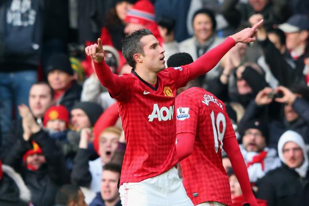 Manchester United See off Liverpool in EPL Thanks Again to van Persie