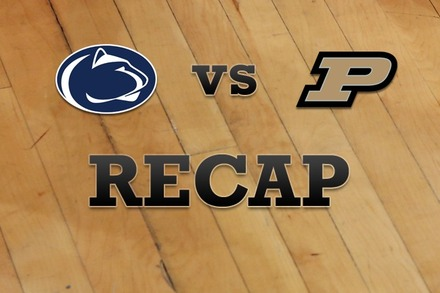 Penn State vs. Purdue: Recap and Stats