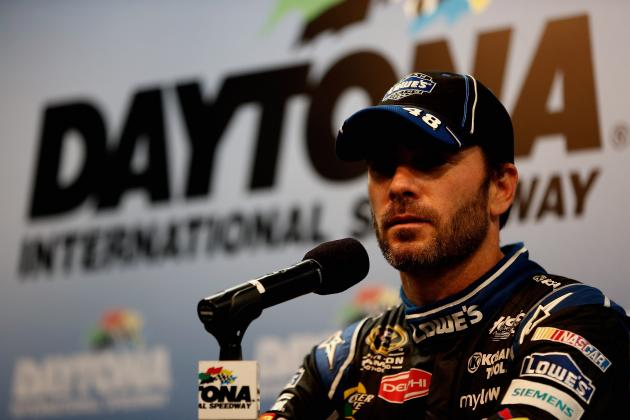 With Shortage of Cars, Jimmie Johnson Plays It Safe, Missed Big Wreck