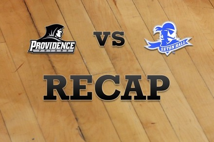 Providence vs. Seton Hall: Recap and Stats