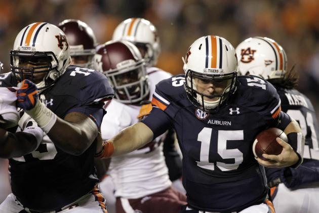 Auburn Football: Taking an Early Look at Auburn's 2013 Offensive Line