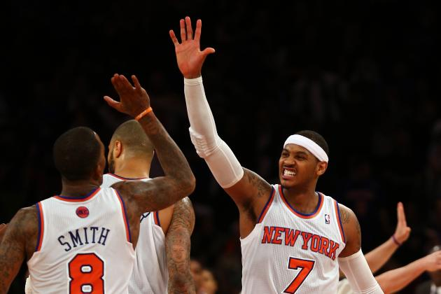 After Sleepy Start, Carmelo, Knicks Defense Wake Up to Beat Hornets