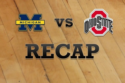 Michigan vs. Ohio State: Recap and Stats