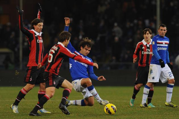 Sampdoria vs Milan Report