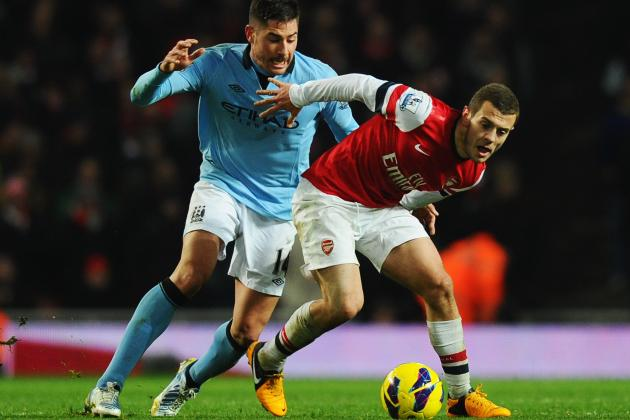 Arsenal vs. Manchester City: Rating the Arsenal Players in 2-0 Loss