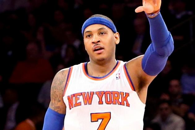 Carmelo Anthony Admits He's Been Fasting for Past 15 Days, Amar'e a Vegan