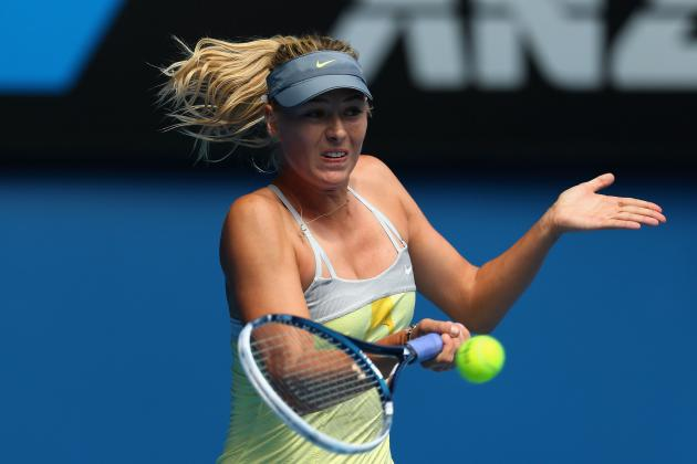 Maria Sharapova Defeats Olga Puchkova at 2013 Australian Open