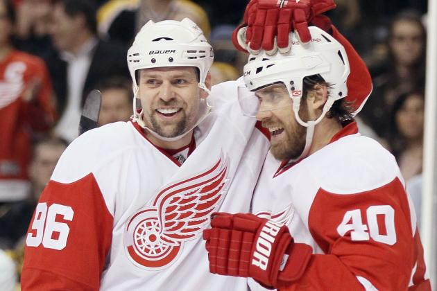 Zetterberg to Be Named Captain; Tomas Holmstrom to Retire Later in Week