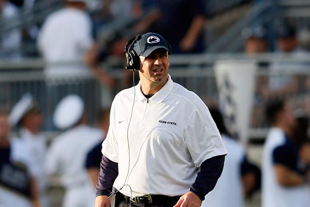 Penn State's Bill O'Brien Is the 1st-Half Coach of the Year