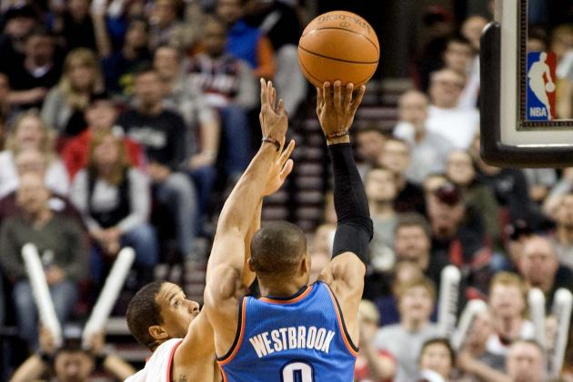 NBA Gamecast: Thunder vs. Trail Blazers