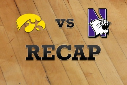 Iowa vs. Northwestern: Recap and Stats