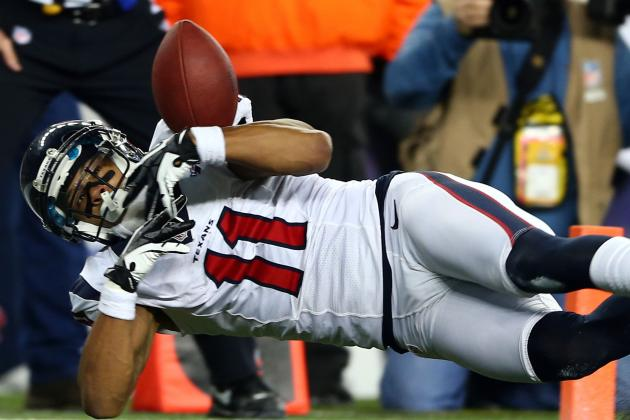 Texans' DeVier Posey Suffers Torn Achilles Tendon