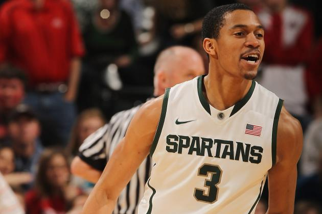 Report: Former Michigan State Guard Brandan Kearney Transferring to ASU
