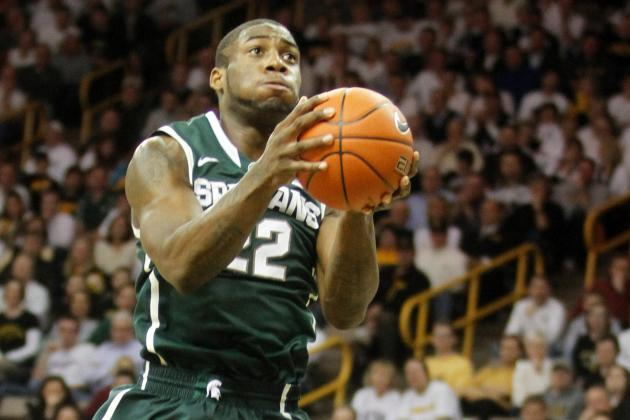 MSU Survives Scares, Beating Nebraska 66-56 and Avoiding Serious Dawson Injury