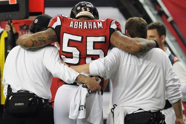 Abraham Plans to Play Against 49ers