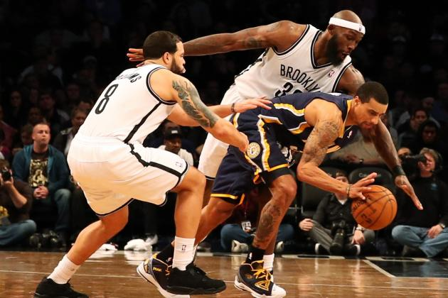 Frustrated Pacers Falter in Fourth Quarter, Fall to Brooklyn