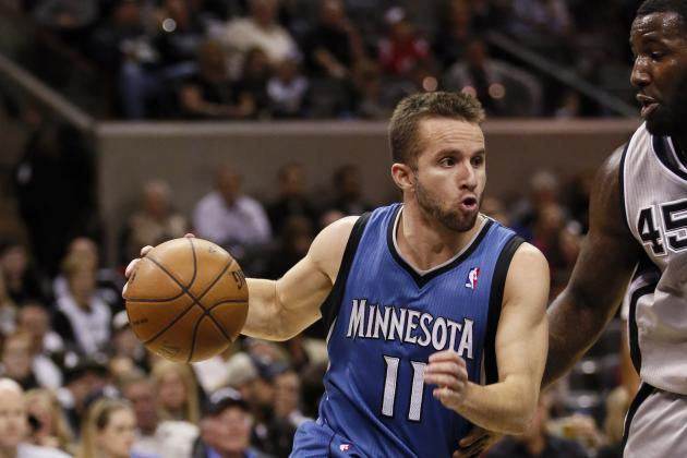 Spurs 106, Timberwolves 88: J.J. Barea's Return Not Enough