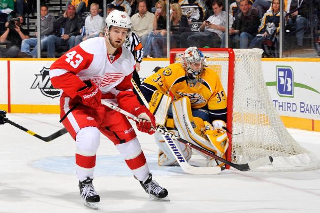 Injuries Continue To Thwart Detroit Red Wings' Darren Helm
