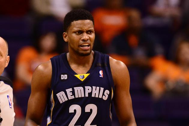 Grizzlies' Rudy Gay Won't Play Against Clippers to Attend Grandmother's Funeral