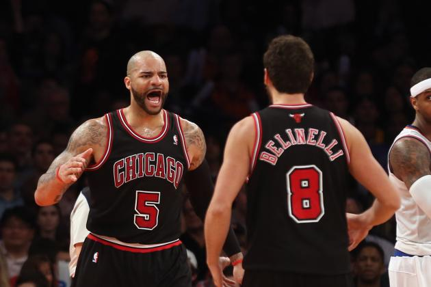 Carlos Boozer Embracing Leadership Role in Derrick Rose's Absence