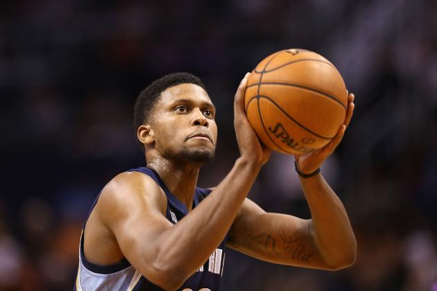 "Wizards Make ""push"" for Memphis' Rudy Gay"
