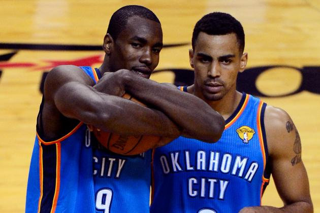 Oklahoma City Thunder: Serge Ibaka, Thabo Sefolosha out Against Portland