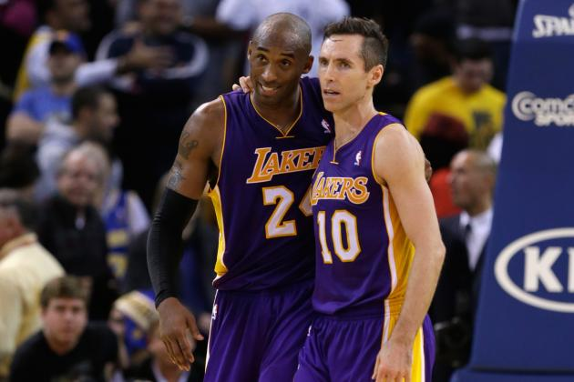 Steve Nash-Kobe Bryant Backcourt Proving Chemistry Can't Be Bought