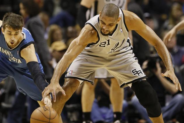 Spurs 106, Timberwolves 88