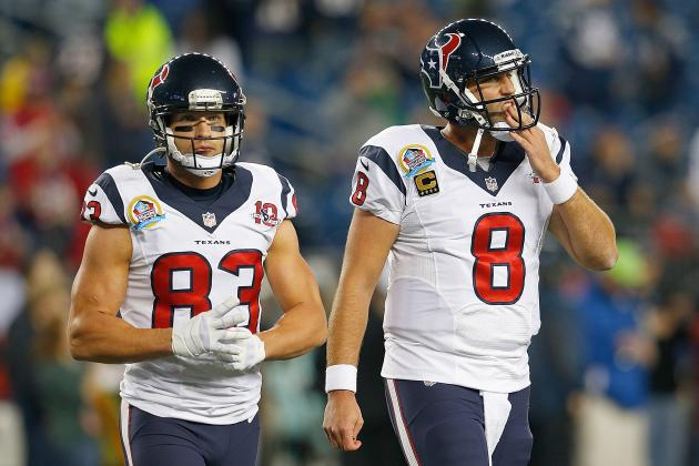 Texans vs. Patriots: Lack of Depth at WR Will Continue to Hinder Houston