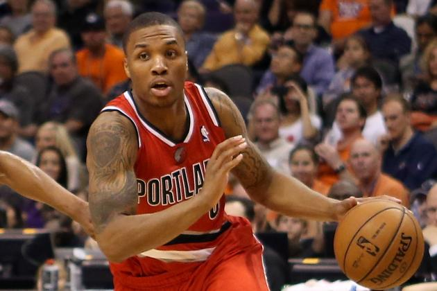 Lillard Aims to Become First Rookie Guard Since Jordan to Make All-Star Team
