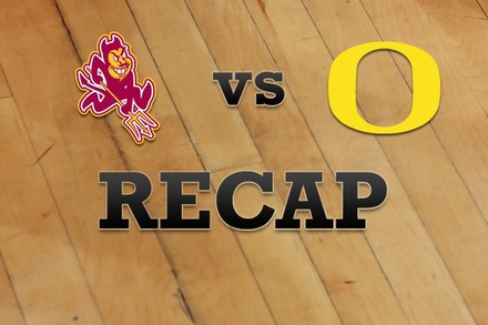 Arizona State vs. Oregon: Recap and Stats