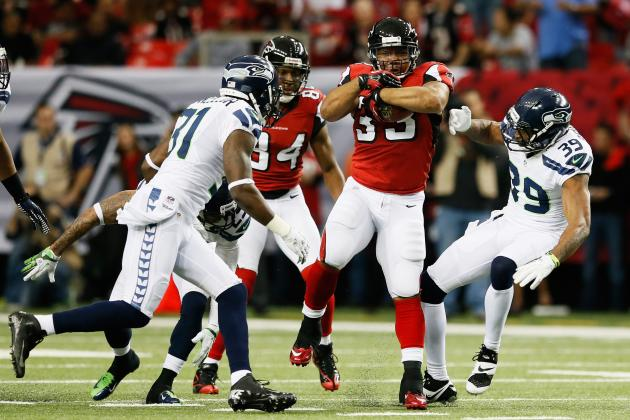 Seahawks vs. Falcons: Atlanta Needs RBs to Perform Well to Secure Super Bowl Bid