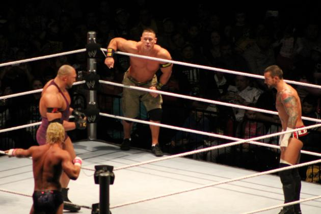 WWE News: Cena-Ryback Steal House Show, Defeat CM Punk and Ziggler