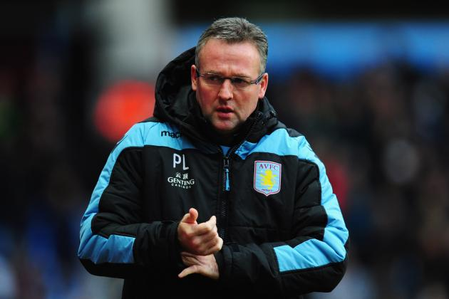 No Panic, Insists Paul Lambert as Relegation Fears Continue to Haunt Aston Villa