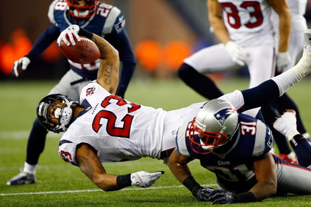Texans vs. Patriots Take 2: Johnson and Foster Couldn't Do It Alone