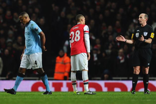 Manchester City Appeal Against Red Card for Vincent Kompany