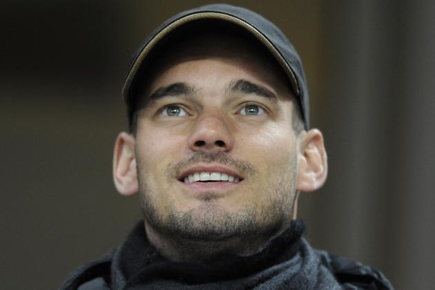 Moratti Hopes in 'Serious' Sneijder
