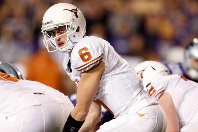 Texas' Options Abound with Five QBs on Roster