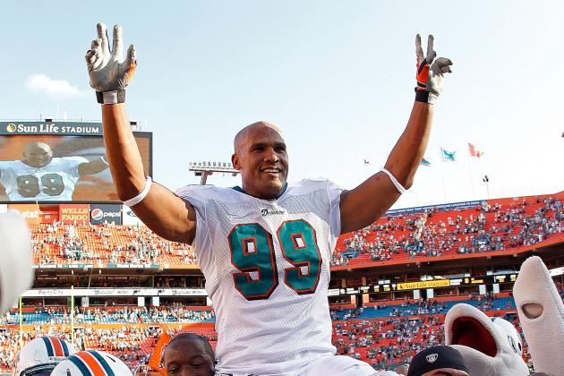 Jason Taylor of Dolphins Almost Needed Amputation