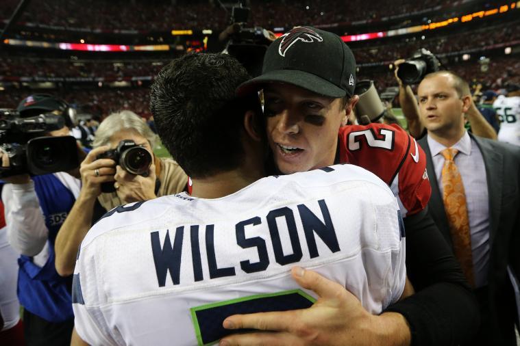 NFL Playoffs: Matt Ryan and Russell Wilson Earn Their Stripes