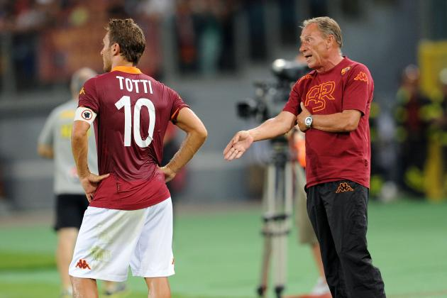 Zeman's Roma in Peril After Frustrating Loss to Catania