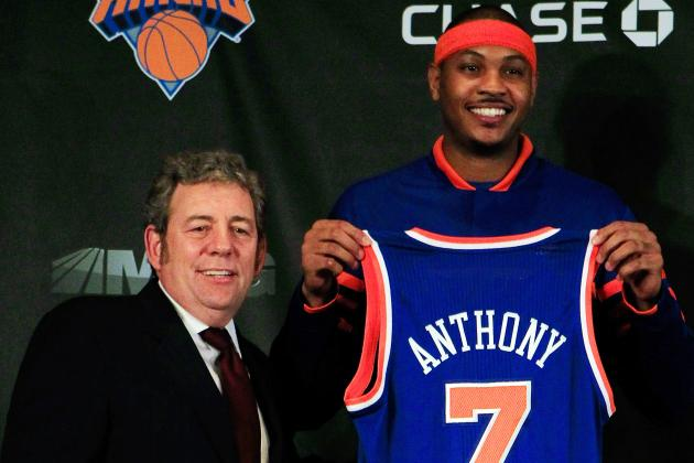 Report: NY Knicks Owner James Dolan Sends Secret Spies to Watch Carmelo Anthony