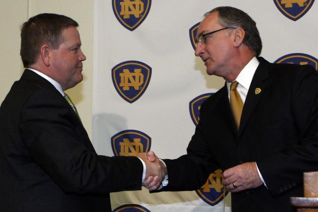 Notre Dame Hopes Kelly One-and-Done with NFL