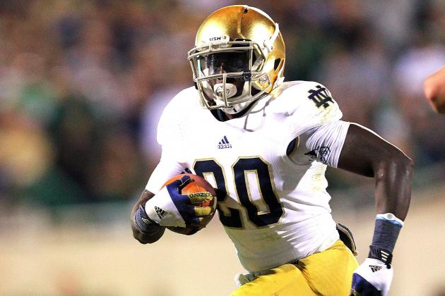 Notre Dame RB Cierre Wood Reportedly Set to Enter NFL Draft