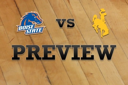 Boise State vs. Wyoming: Full Game Preview