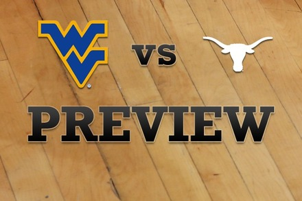 West Virginia vs. Texas: Full Game Preview
